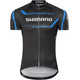 Shimano Print Bike Jersey Shortsleeve Men black